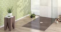 Ламинат для ванной комнаты – изящное решение